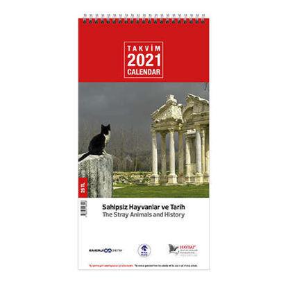 Sokak Köpekleri Ve Kedileri Gemici  Duvar Takvimi 2021 resmi
