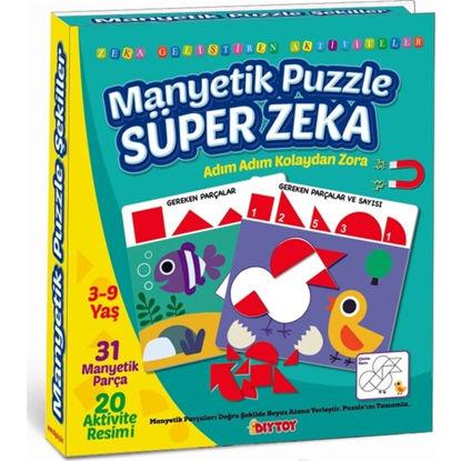 Manyetik Puzzle Süper Zeka resmi