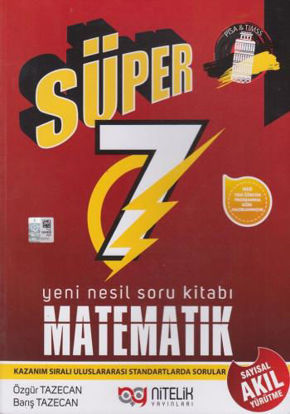7.Sınıf Matematik Yeni Nesil Süper Soru Kitabı resmi
