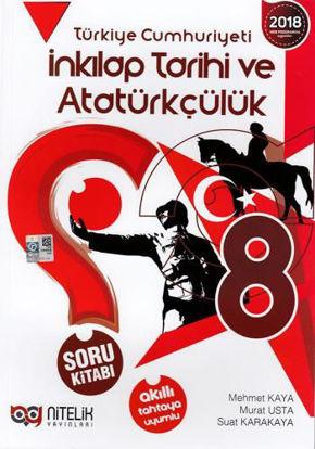 8.Sınıf İnkılap Tarihi Ve Atatürkçülük Soru Kitabı resmi