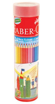 Faber-Castell Metal Tüpte Boya Kalemi 24 Renk resmi