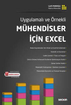 Uygulamalı ve Örnekli Mühendisler İçin Excel resmi