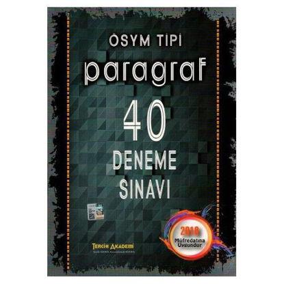 Ösym Tipi Paragraf 40 Deneme Sınavı resmi