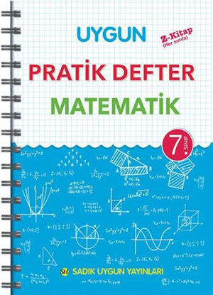 7.Sınıf Matematik Pratik Defter resmi