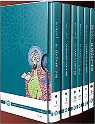 El-Kanun Fi't-Tıbb Altı Kitap Takım resmi