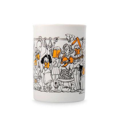 Kupa (Porselen) Behiç Ak Yolculuk resmi