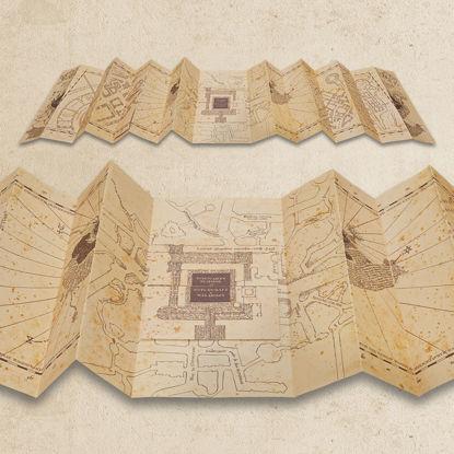 Harry Potter Wizarding World - Çapulcu Haritası resmi