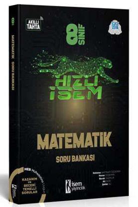 8. Sınıf Hızlı İsem Matematik Soru Bankası resmi