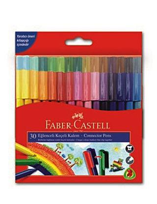 Faber Castell Keçeli Kalem Eğlenceli 30 Renk resmi