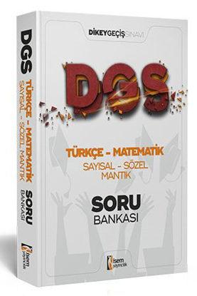 DGS Türkçe - Matematik Sayısal - Sözel Mantık Tamamı Çözümlü Soru Bankası resmi