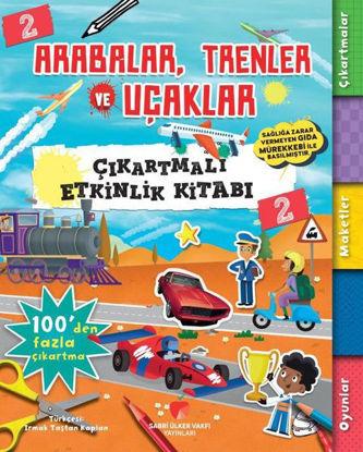 Arabalar Trenler ve Uçaklar - Çıkartmalı Etkinlik Kitabı 2 resmi