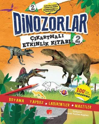 Dinozorlar Çıkartmalı Etkinlik Kitabı - 2 resmi