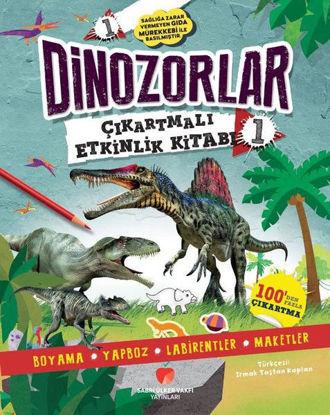 Dinozorlar Çıkartmalı Etkinlik Kitabı - 1 resmi