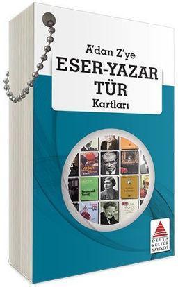 A'dan Z'ye Eser - Yazar Tür Kartları resmi