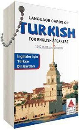 İngilizler için Türkçe Dil Kartları resmi