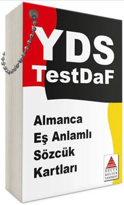YDS TestDaf Almanca Eşanlamlı Sözcük Kartları resmi