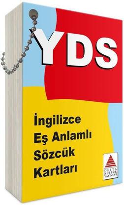 YDS Sınavları İçin İngilizce Eşanlamlı Sözcük Kartları resmi