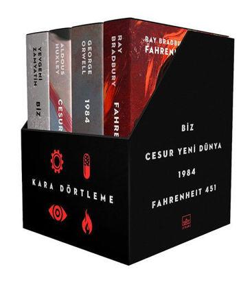 Kara Dörtleme Kutu Set (4 Kitap Takım-Ciltli) resmi