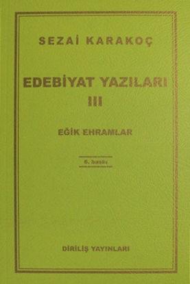 Edebiyat Yazıları III - Eğik Ehramlar resmi