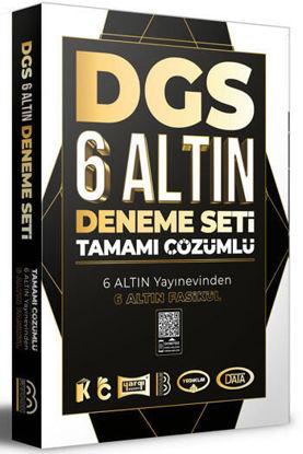 DGS Tamamı Çözümlü 6 Altın Deneme resmi