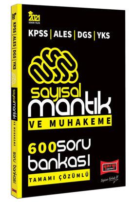 KPSS ALES DGS YKS Sayısal Mantık ve Muhakeme Tamamı Çözümlü 600 Soru Bankası resmi