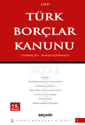 Türk Borçlar Kanunu LMD (Ciltli) resmi