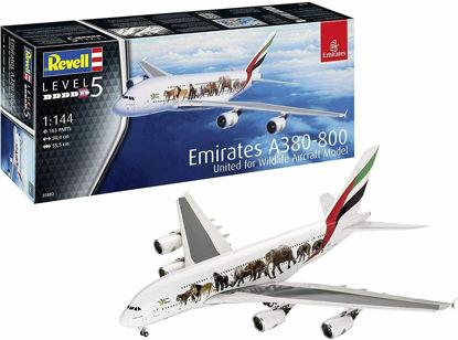 Aırbus A380-800 Emirates ''WildLife'' resmi