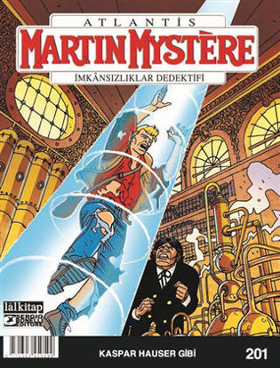 Martin Mystere Sayı: 201 - Kaspar Hauser Gibi resmi