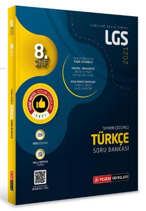 8.Sınıf LGS Türkçe Tamamı Çözümlü Soru Bankası 2021 resmi