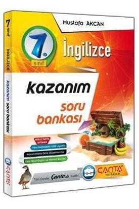 7. Sınıf İngilizce Kazanım Soru Bankası resmi