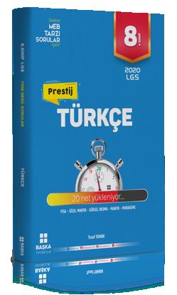 8. Sınıf LGS Prestij Türkçe Soru Bankası resmi