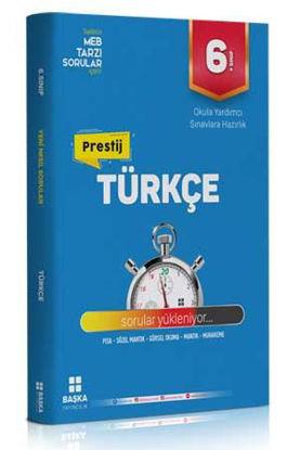 6. Sınıf Türkçe Prestij Yeni Nesil Soru Bankası resmi