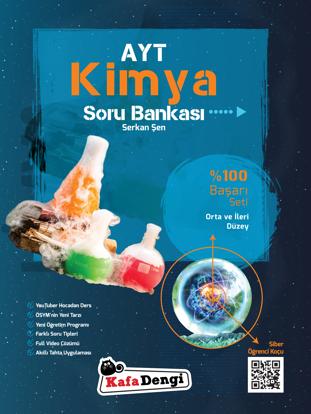 AYT Kimya Orta ve İleri Düzey Soru Bankası resmi