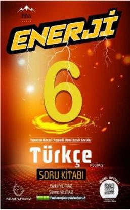 6. Sınıf Enerji Türkçe Soru Kitabı resmi