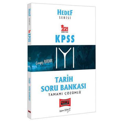 2021 KPSS Tarih Tamamı Çözümlü Soru Bankası Hedef Serisi Yargı Yayınları resmi