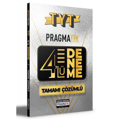 2021 TYT Tamamı Çözümlü 4 Deneme Sınavı Pragmatik Serisi Benim Hocam Yayınları resmi