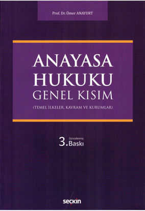 Anayasa Hukuku Genel Kısım resmi
