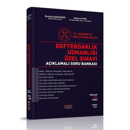 Defterdarlık Uzmanlığı Özel Sınavı Açıklamalı Soru Bankası resmi
