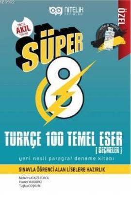 8. Sınıf Türkçe 100 Temel Eser Seçmeler resmi