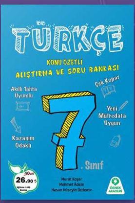 7. Sınıf Türkçe Konu Özetli Araştırma ve Soru Bankası resmi