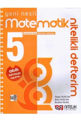 5.Sınıf Matematik Nitelikli Defterim resmi