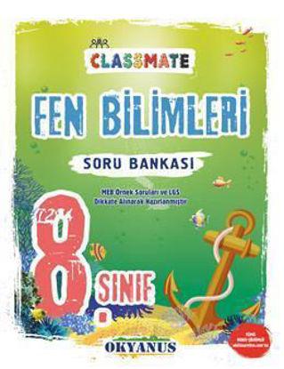 8. Sınıf Fen Bilimleri Classmate Soru Bankası resmi