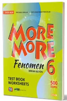 6. Sınıf New More More English Fenomen Test Book resmi