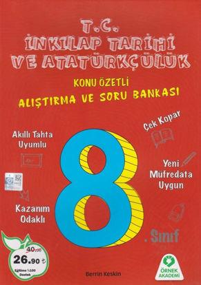 8. Sınıf T.C. İnkılap Tarihi ve Atatürkçülük Konu Özetli Alıştırma ve Soru Bankası resmi