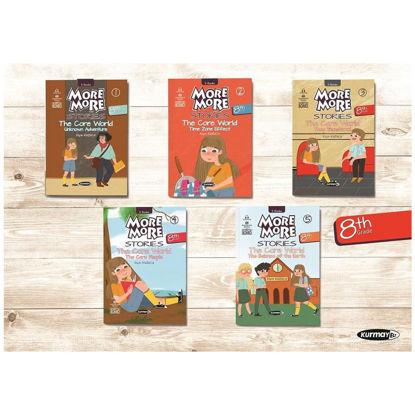 8. Sınıf More More Stories İngilizce Hikaye Seti 5 Kitap resmi
