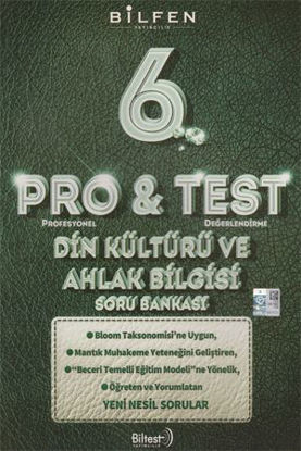 6. Sınıf Din Kültürü ve Ahlak Bilgisi Pro Test Soru Bankası resmi