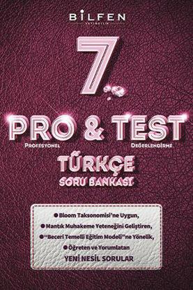 7. sınıf Türkçe Pro test Soru Bankası resmi