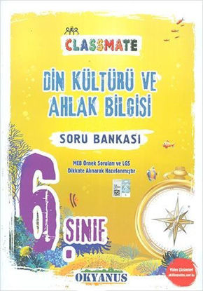 6. Sınıf Din Kültürü Ve Ahlak Bilgisi Classmate Soru Bankası resmi