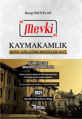 2021 Mevki Kaymakamlık Konu Anlatımı Modüler Seti - Türkiye'de Mahalli İdareler resmi