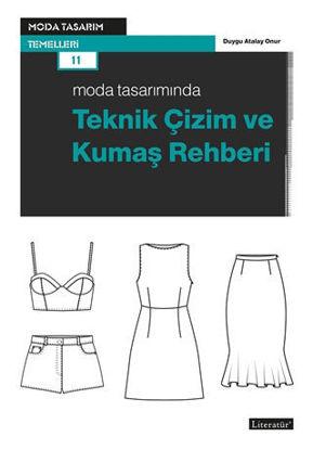 Moda Tasarımında Teknik Çizim ve Kumaş Rehberi resmi